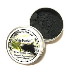 coconut activated charcoal teeth whitening powder dental scaling