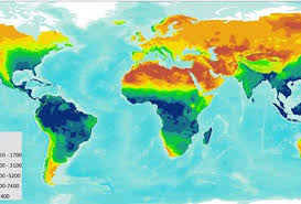 Water Country Map First Ever Global Erosivity Map Shows Areas Most Vulnerable To Erosion
