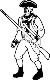 american revolution soldier coloring page wecoloringpage