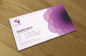 Purple Business Cards Purple Flora Creative Business Card U2013 Lemon Graphic Singapore