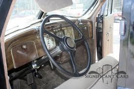 1937 chrysler airflow iconic art deco car great runner for