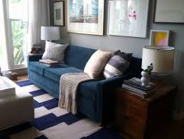 Blue Sofa Living Room Design by Blue Couch Grey Walls Google Search Living Room Pinterest