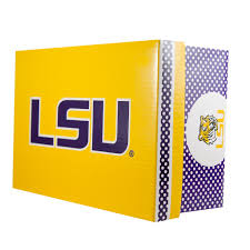 lsu tigers canvas lace up sneakers for juniors u2013 mynewshoe com