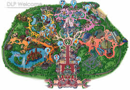Disney Resort Map Park Maps Join The Party Reveal Secrets Dlp Today Disneyland Map