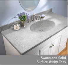 Solid Surface Bathroom Vanity Tops Swan