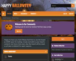 halloween changing background ui x halloween xenforo theme u2014 themehouse