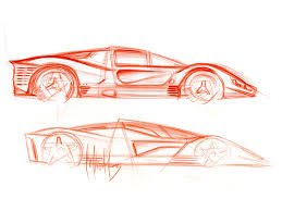 ferrari drawing 2006 ferrari p4 5 by pininfarina drawing side 1024x768 wallpaper