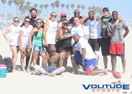 Coed Flag Football League Fall 8v8 Coed Flag Beach Football League In Long Beach Sunday