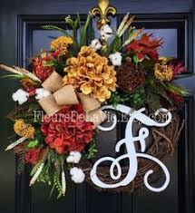 etsy fall wreaths front doors wreaths and decoration
