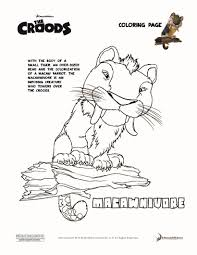 guy the croods coloring pages hellokids com