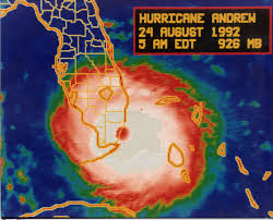 Path Of Light Through The Eye Hurricane Andrew Working In A Category 5 Storm Inside The Eye