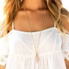 long boho pendant necklace images Jewels necklace pendant pendant pink necklace pink pendant jpg