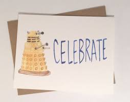 doctor who congratulations card doctor who congratulations dalek card by averycbellart