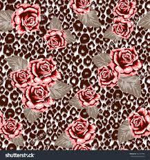 brown cheetah print background