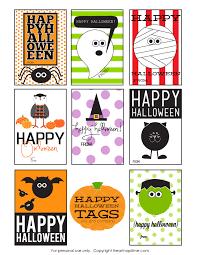 Fun Halloween Printables Free Printable Halloween Tags For Kids U2013 Fun For Halloween