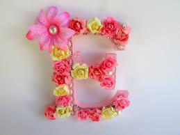 floral name letter custom name letter flower letter e shabby