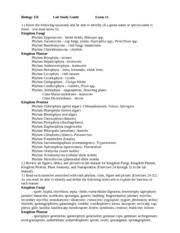 algae protist and fungi worksheet algae protozoa and fungi