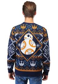 sweater wars wars bb8 navy sweater for adults