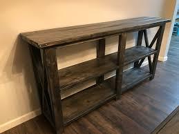 farmhouse buffet or sofa table wood furniture creations