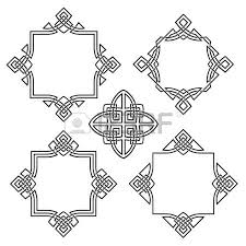 four ornamental frames for design royalty free cliparts vectors