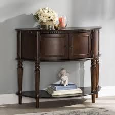 half circle console u0026 sofa tables you u0027ll love wayfair