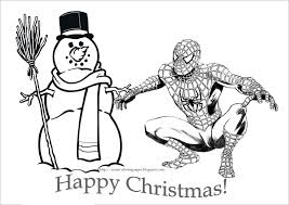 spiderman birthday coloring page christmas coloring pages spiderman christmas coloring pages for