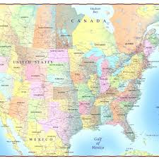 map of us and canada united states map with canada and mexico jcruz661 dwire soc
