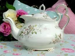 royal albert haworth ornate bone china vintage teapot