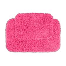 Pink Bathroom Rugs And Mats Pink Bath Rugs Cievi Home