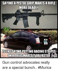 Hybrid Car Meme - saying that a pistol 6rip makes a rifle more deadly is like saying