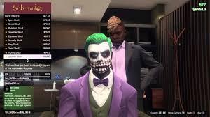 best joker in gta online halloween update youtube