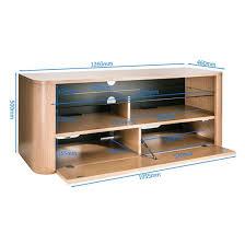 light wood tv stand hugo modern wooden tv stand in white and light oak finish
