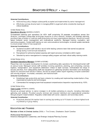 Senior Management Resume Examples by Careerperfect Management Resume After