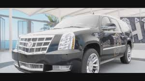 build a cadillac escalade donald s getaway car cadillac escalade offroad build