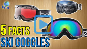 10 ski goggles 2017 video review