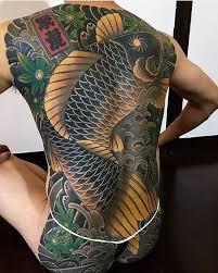 tattoo koi carp meaning 16 fascinating yakuza tattoos and their hidden symbolic meaning