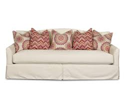 Bench Back Cushion Transitional Stationary Sofa With Bench Seat Cushion Camel Back