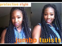 what type of hair do you use for crochet braids style 1 jumbo twists protective style challenge youtube