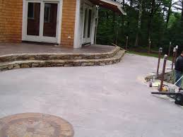Stamped Concrete Patio Maintenance Artistic Stamped Concrete Of Rhode Island Resealing