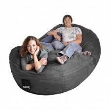 giant bean bag sofa microfiber bean bags foter