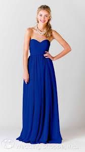 royal blue bridesmaid dresses kennedy blue bridesmaid dress the wedding shoppe