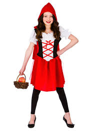 Halloween Costumes Kids Age 11 Red Riding Hood Costume Fancy Dress Dress Party