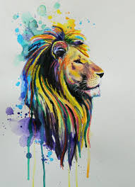 watercolor lioness tattoo 1000 ideas about lion art on pinterest