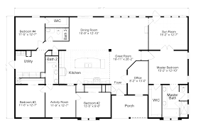 floor plans for ranch homes with walkout basement astonishing ranch home floor plans with walkout basement 96 about