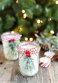 jar candle ideas jar christmas decorating ideas clean and scentsible