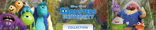library competition monsters university disney uk video