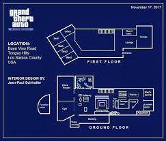 blueprint of a mansion devin weston mansion gta5 mods com