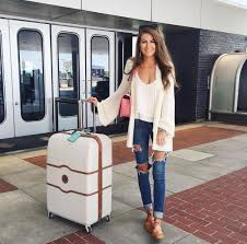Travel Style images 70 summer airplane outfits travel style ideas need to try 625&a
