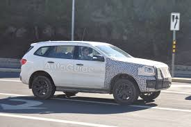 bronco raptor spy photographers claim to have caught a ford bronco mule