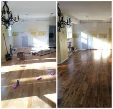 stained kitchen cabinets with hardwood floors kitchen progress staining hardwood floors burger